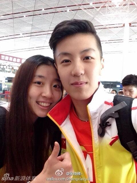 女排比赛收官,中国队最终获得亚军.几天的比赛看下来,中国女高清图片