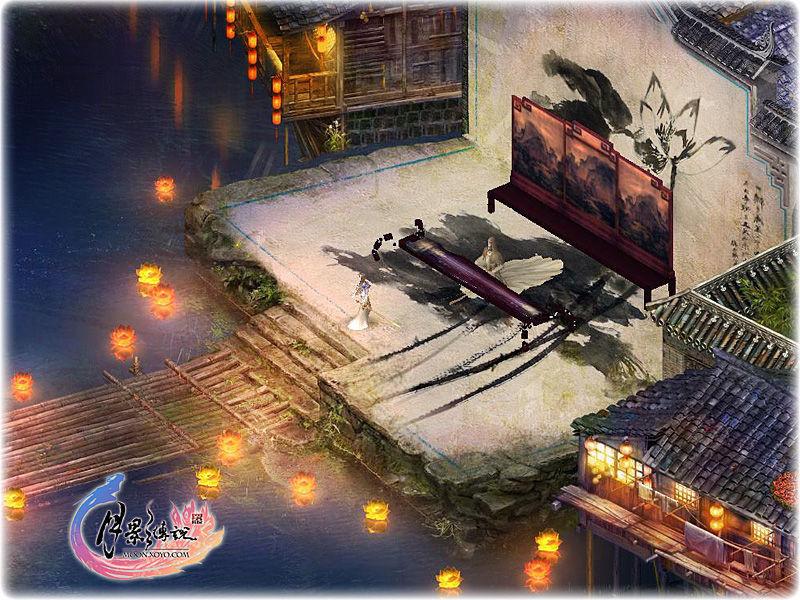 《月影传说》游戏截图