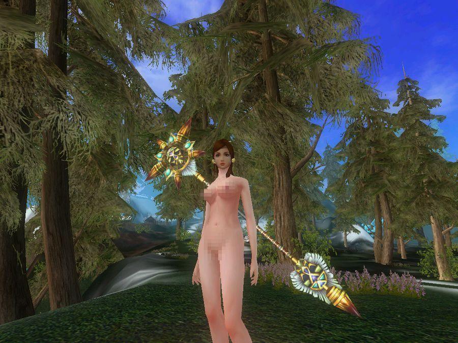 极光世界惊现玩家自制裸体补丁 游戏频道|佛山