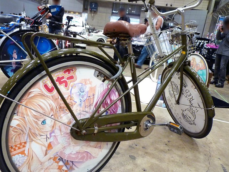 日本超萌自行车图片