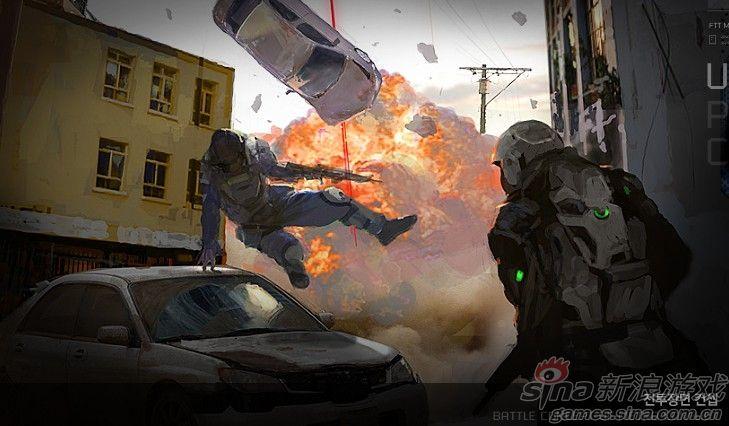 《都市战争:剧变》原画   《都市战争:剧变》原画   韩国...