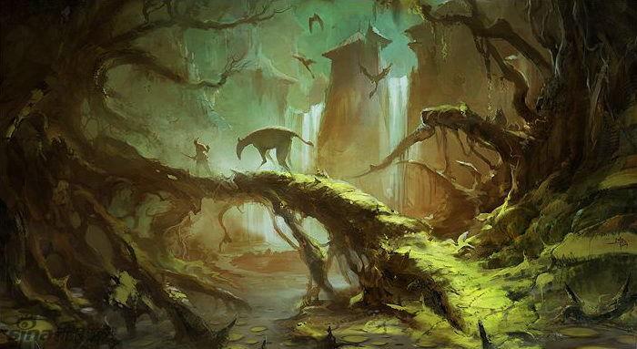 育碧游戏场景设计师 概念作品欣赏图片