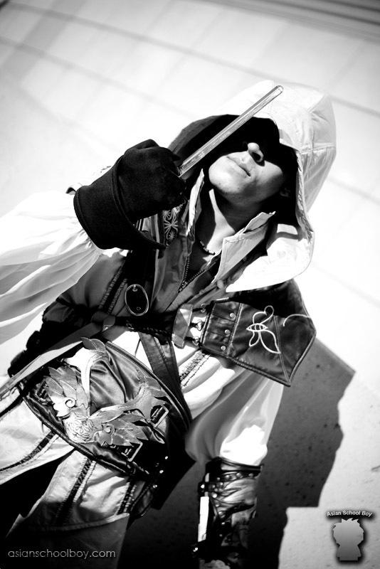 潇洒帅气 《刺客信条2》超酷型男cosplay   潇洒帅气 《刺高清图片