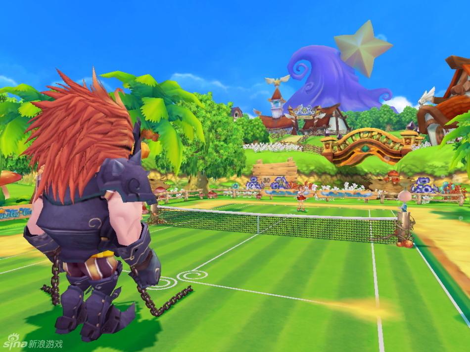 《网球小妹》游戏截图