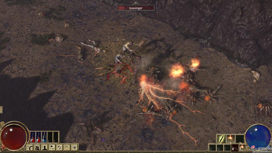 《流放之路》游戏截图