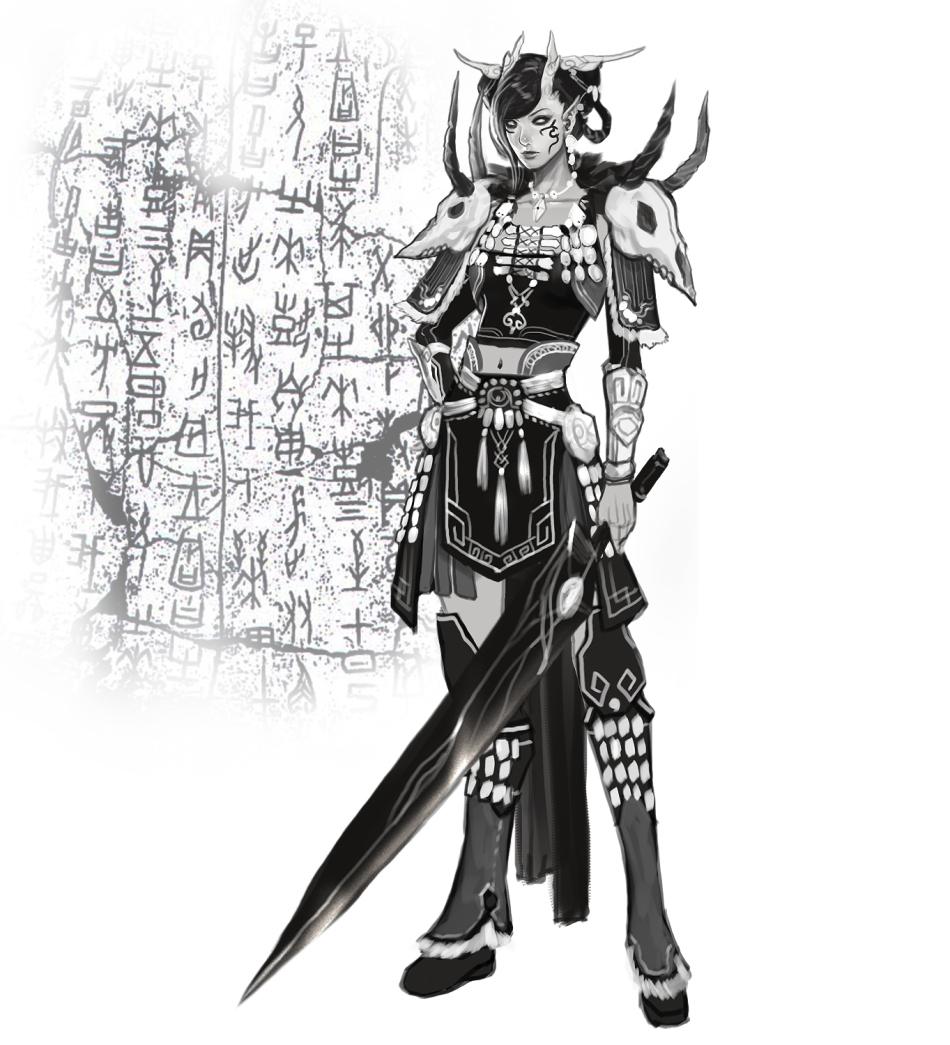 《剑灵·诀》游戏原画