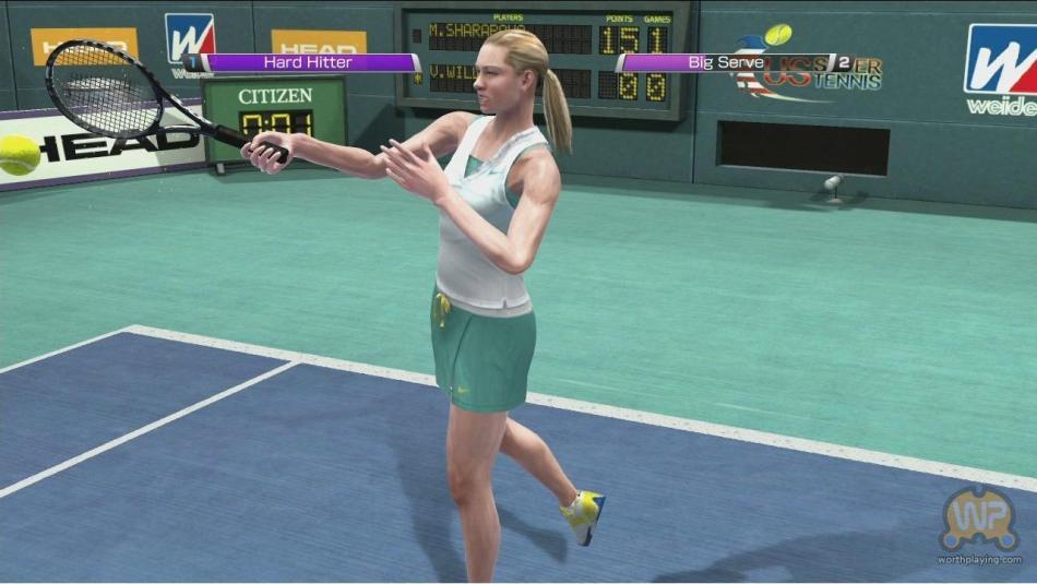 虚拟网球4 对战隐藏BOSS 高难度版