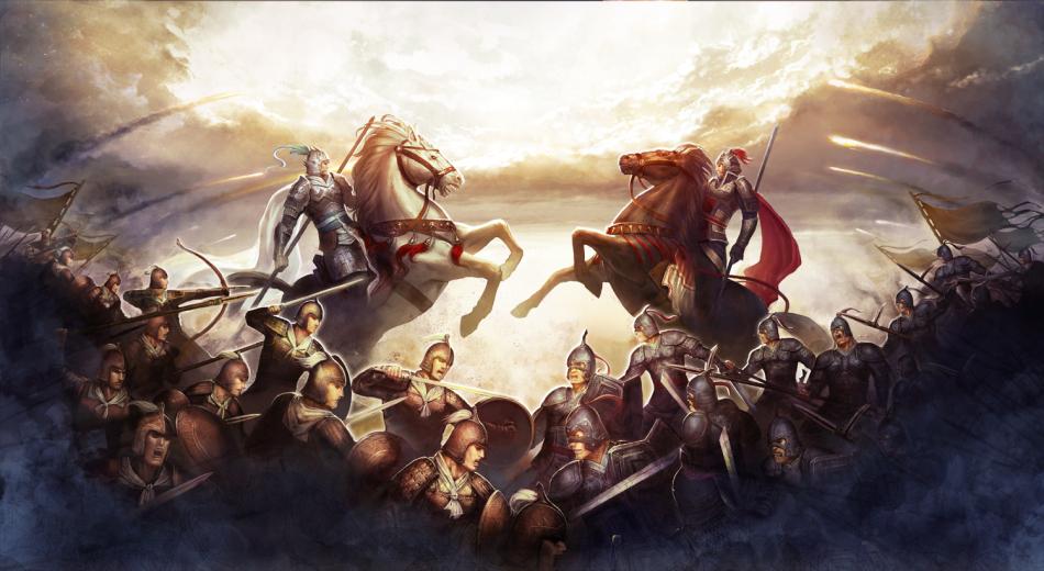 国时代为背景,墨家思想为灵魂,通过城池战斗,部队系统等助玩家图片