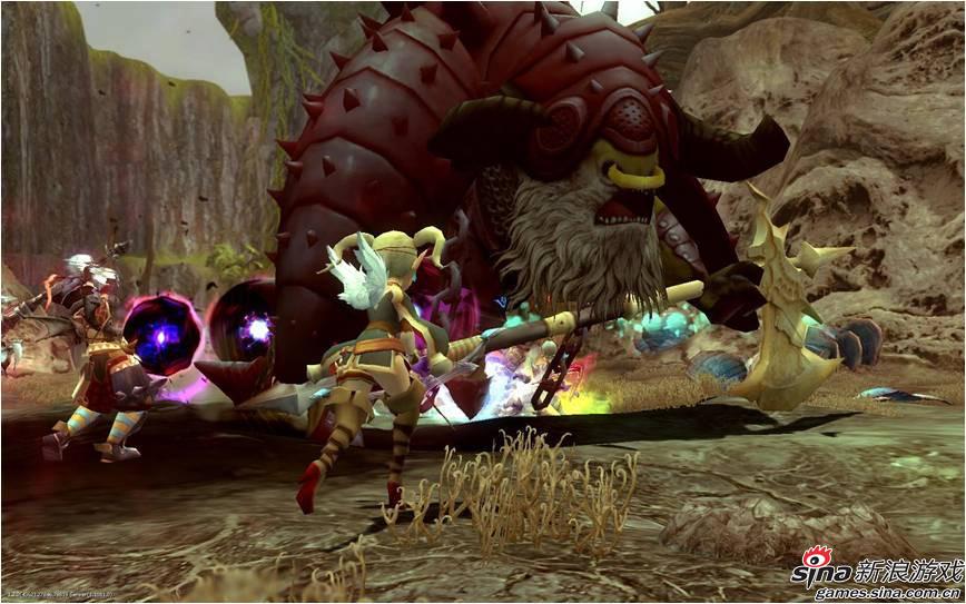 《龙之谷》游戏截图