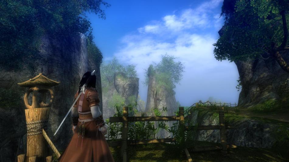 《九阴真经》游戏截图