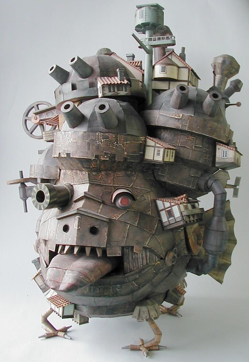 哈尔的移动城堡 点击查看更多动漫美图