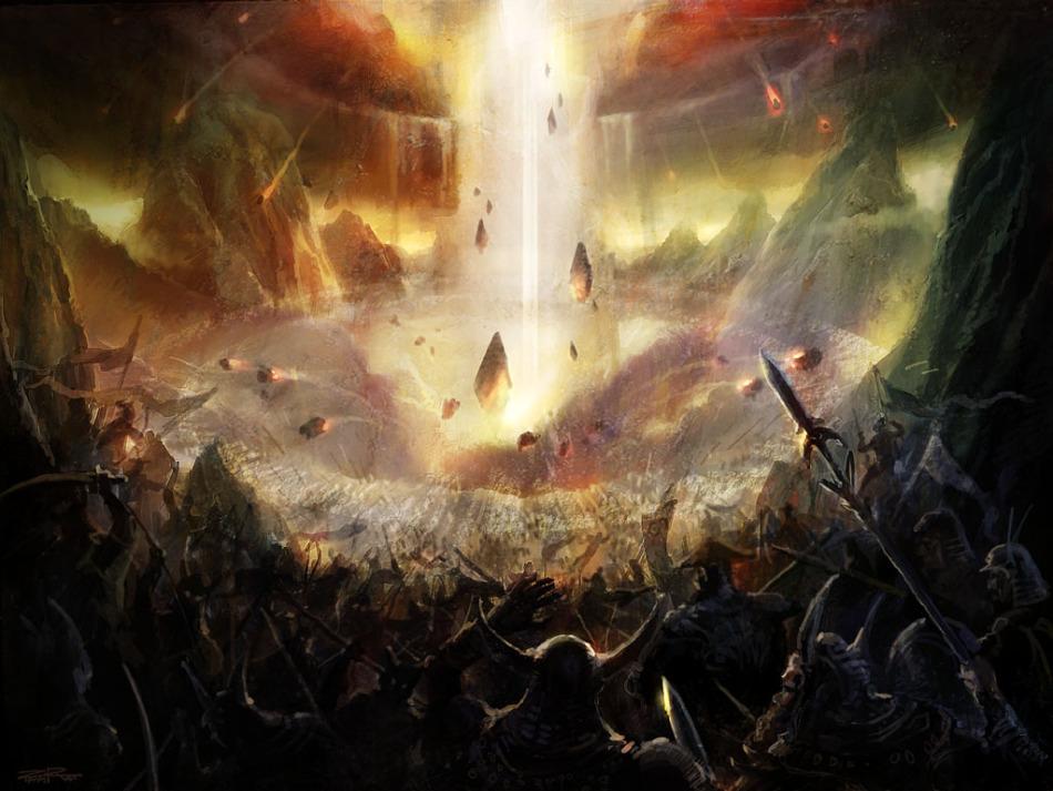 《纵横时空-诸神之战》游戏原画