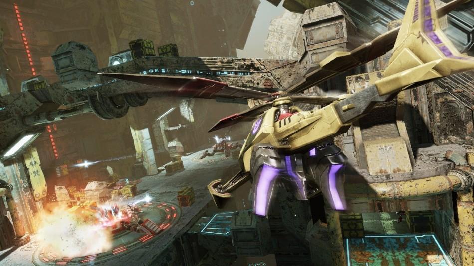 3 2012 变形金刚 赛博坦陨落 最新画面图片