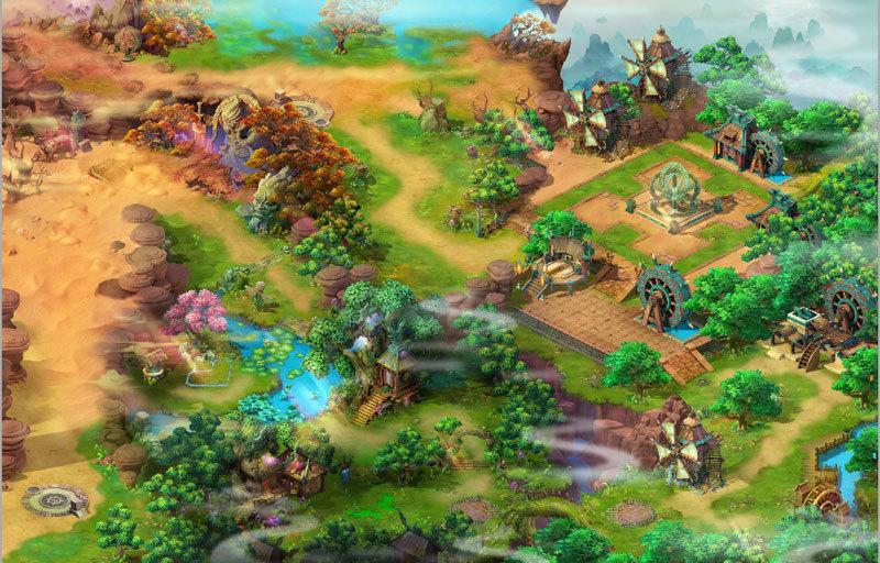 《山海战纪》游戏截图