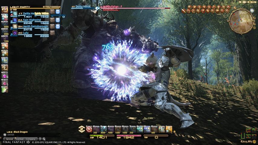 幻想14 游戏画面