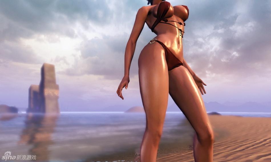 首测在即!《龙剑》美女角色性感露肉截图
