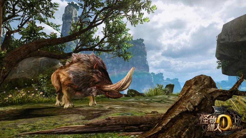 《怪物猎人OL》游戏截图