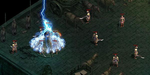 《赤月传说》游戏截图