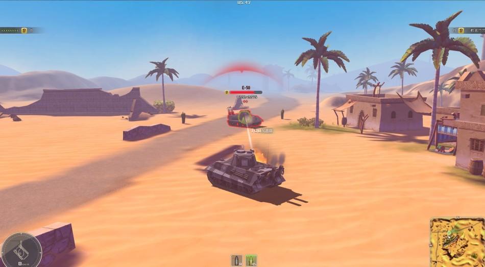 《坦克英雄》游戏截图