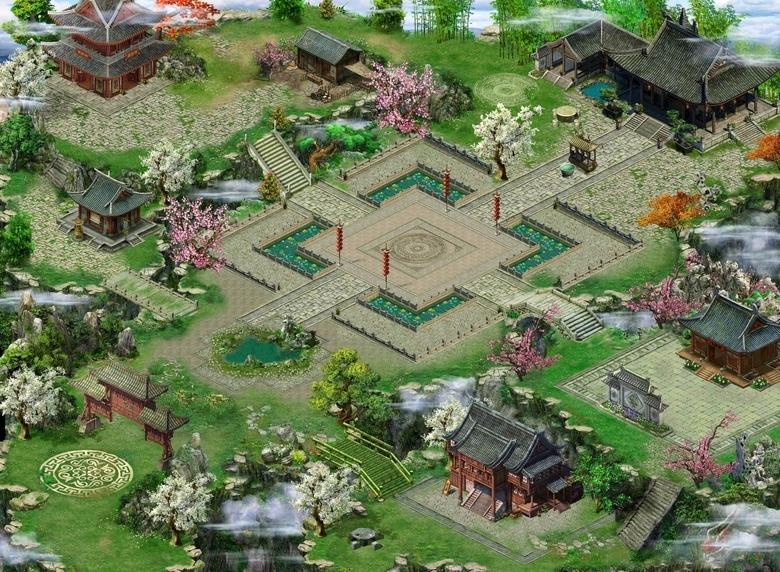 游戏截图-《蜀山传》游戏截图之帮派进驻地区