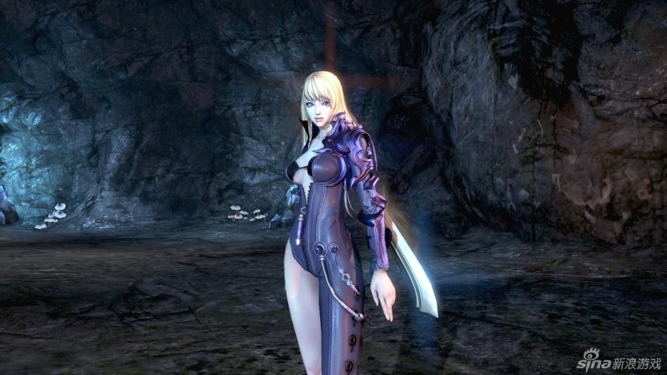 剑灵服装设计真猥琐女剑士拔剑就走光
