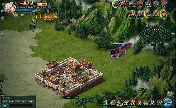 网页游戏《一品三国》游戏截图