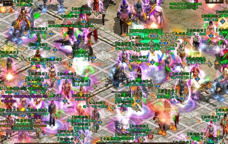 《征途》最新游戏截图