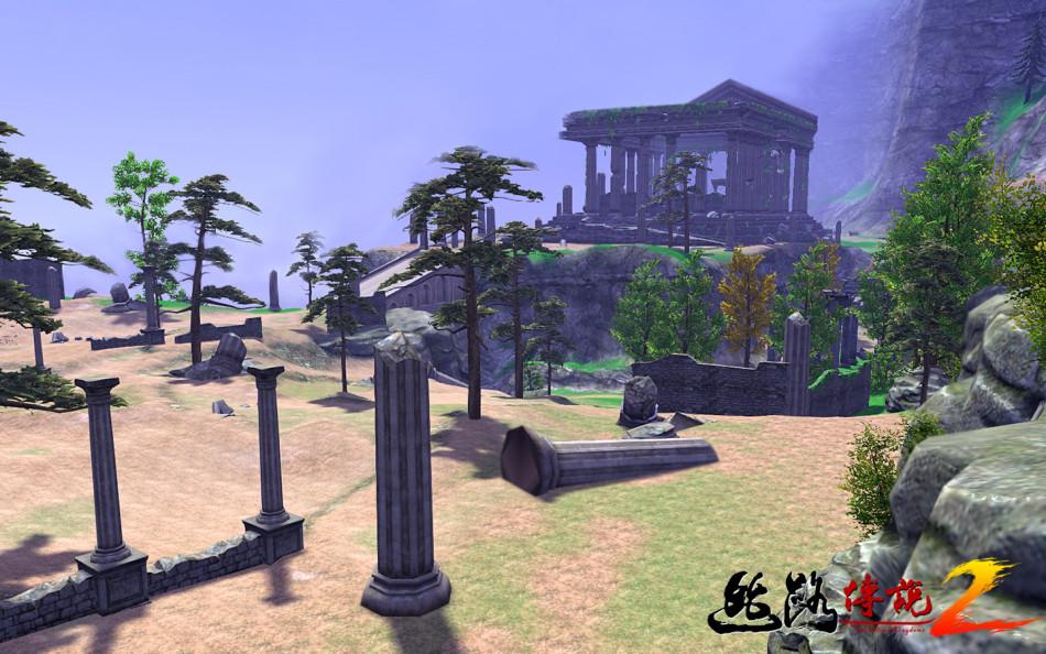《丝路传说2》游戏截图(无UI)