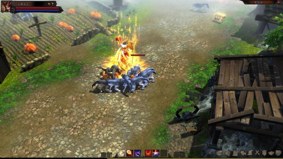 《修罗王》游戏截图