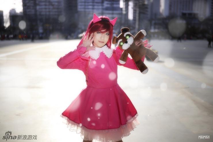 不讓性感也能可愛!南韓萌妹子cosplay安妮璐璐