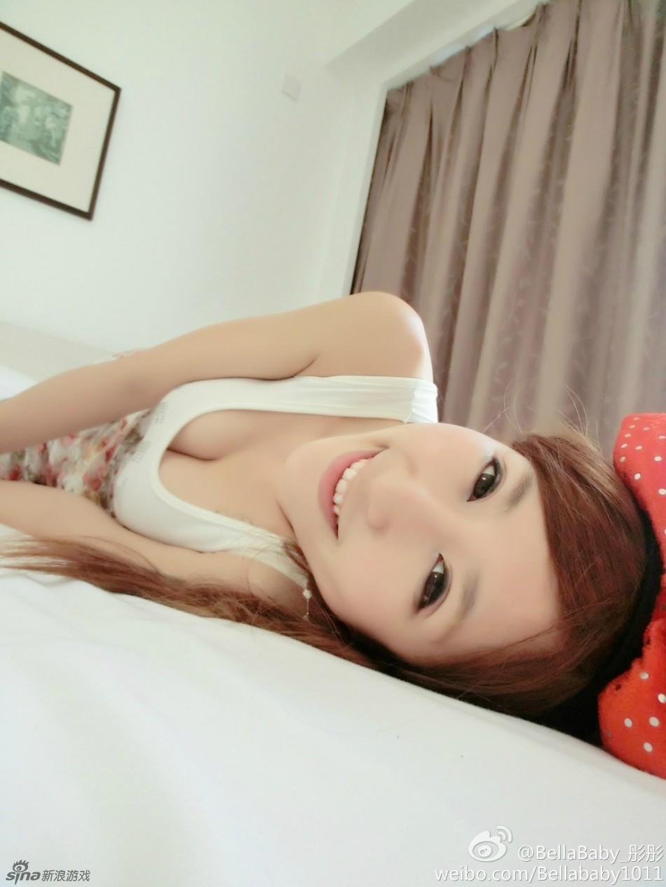 台湾美女主播加盟国产游戏 竖