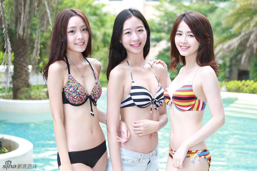 台湾新宅男女神评选活动 准女神清凉外拍
