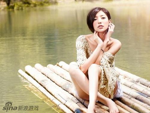 台湾网游邀请女神郭雪芙代言 植入虚拟形象