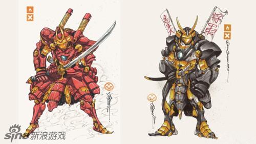 钢铁侠铠甲武士型号设定公开图片