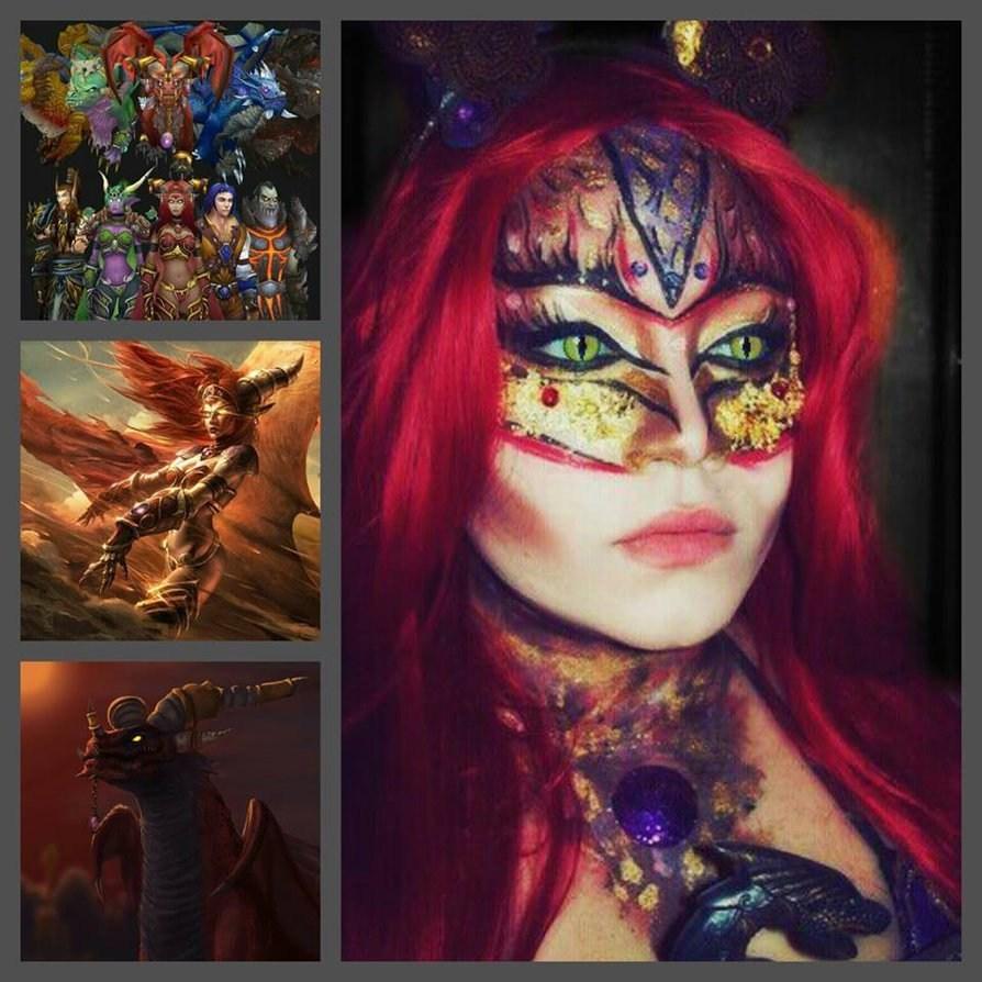 国外魔兽世界女玩家的创意化妆秀