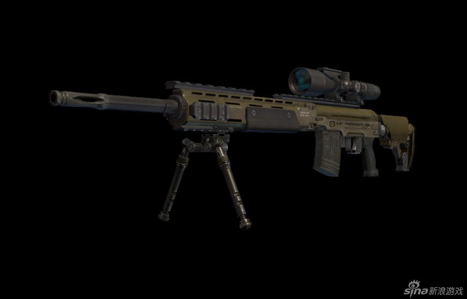 《使命召唤ol》全新枪械高清模型