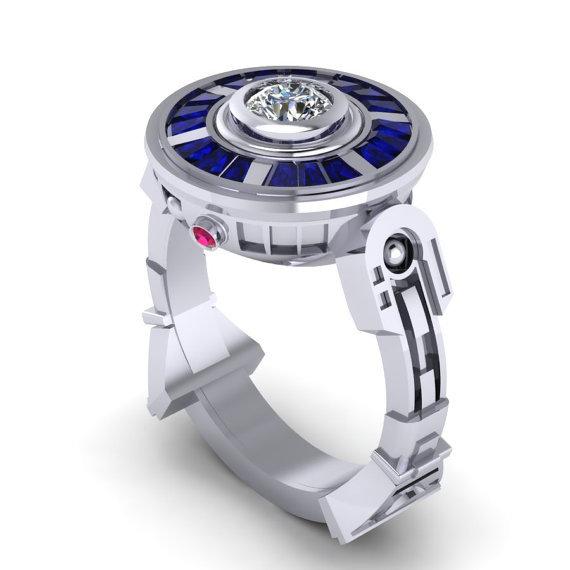 珠宝设计师魔兽主题戒指!
