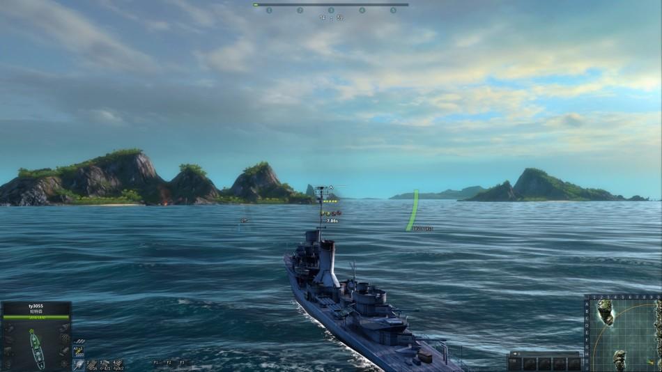 CGWR 海戰世界 評測截圖