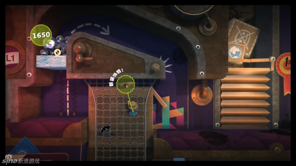 国行ps4《小小大星球3》游戏画面