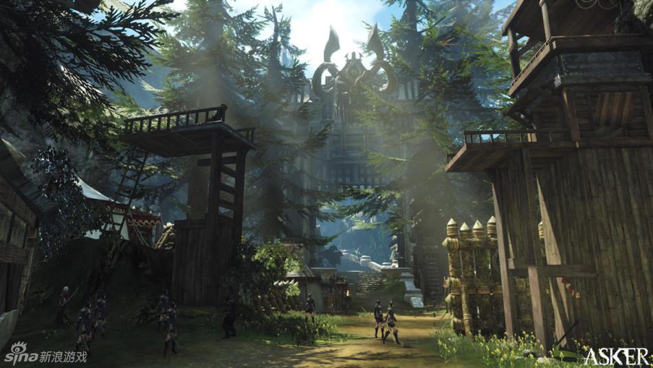 動作RPG魔劍英雄二測場景截圖