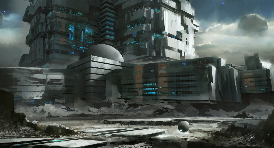 游戏中的世界末日原画欣赏