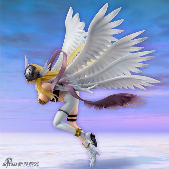 数码宝贝之天女兽-天使名册_童年的男神女神数码宝贝天女兽与天使兽手办