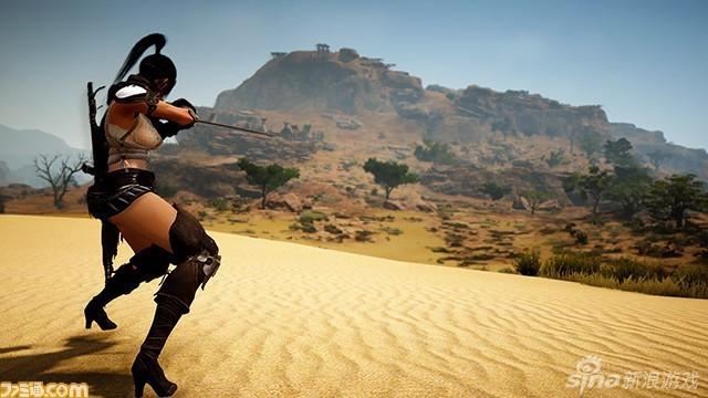 《黑色沙漠》聯動《拳皇》不知火舞美圖