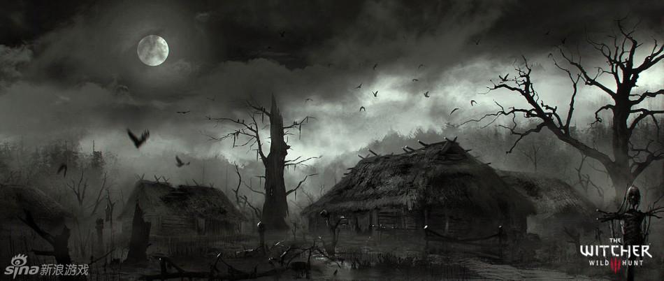 巫师3艺术作品赏析图片