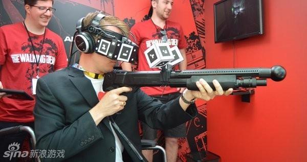 《陰屍路》VR版現場體驗