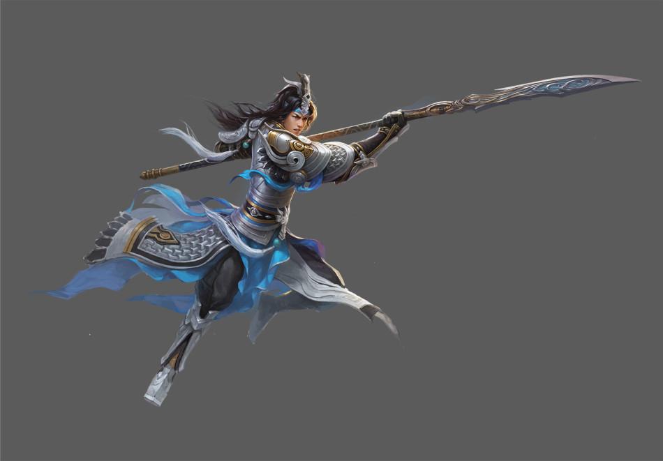 剑三霸刀手绘壁纸