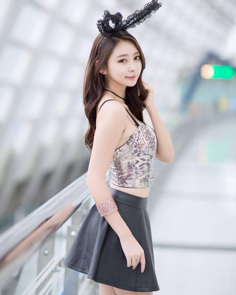 身材爆炸 韩国性感女主播私照