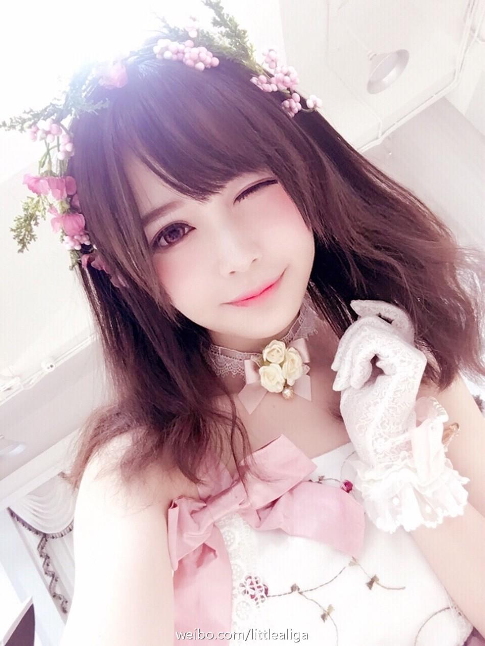 這個姑娘太可愛 超可愛coser矮樂多美圖欣賞