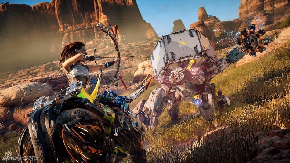 《地平線:零之黎明》新遊戲畫面公布