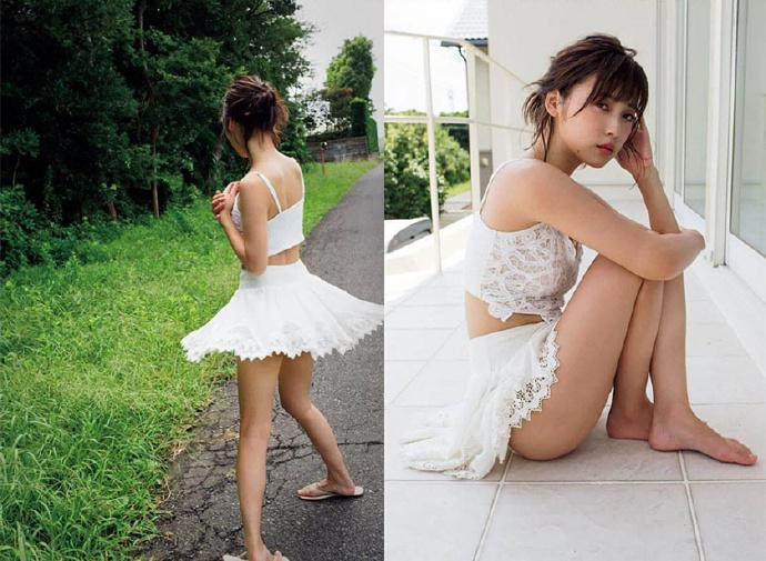 16岁少女微乳_清爽透心无负担 微乳美少女最新写真激发保护欲(2)